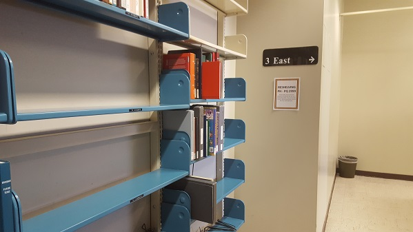 3 Central Reshelving Area
