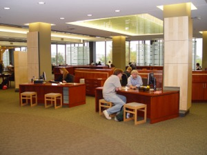 Ellis Library Reference Desk