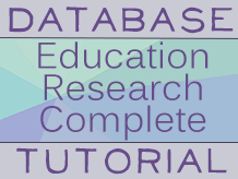 Education Database Tutorial