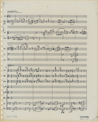 Concerto for Chamber Orchestra, p. 1