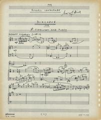 Dialogue, page 1