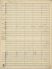 Linfauische Overture, page 1