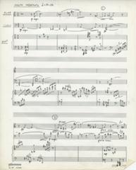 Rhapsody, page 1