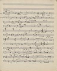 Sonata for Violin and Cello, Page 1