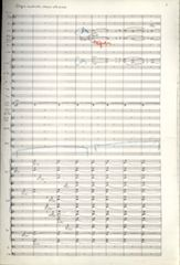 Symphony no. 1, page 1