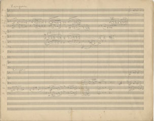 Untitled orchestra piece, p. 1