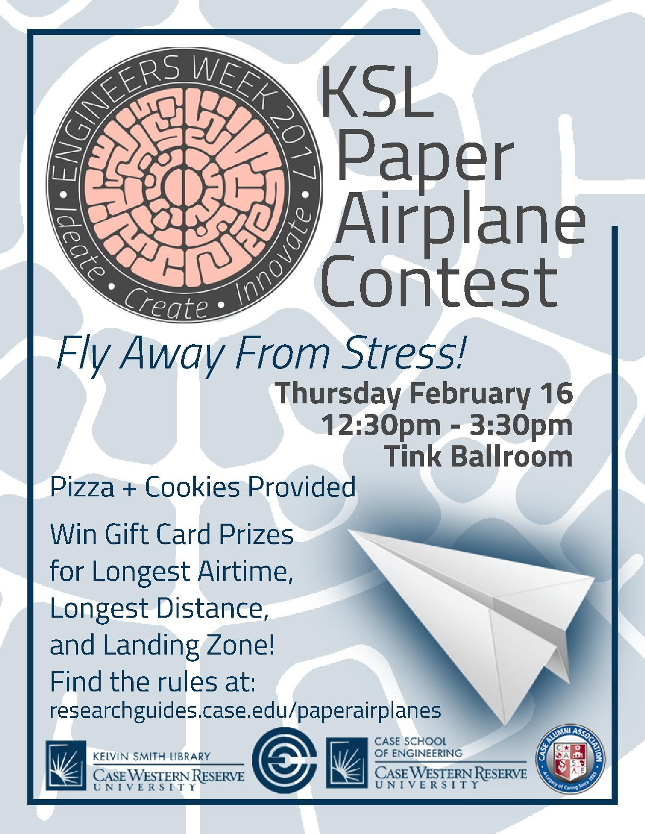 Paper airplane contest prizes