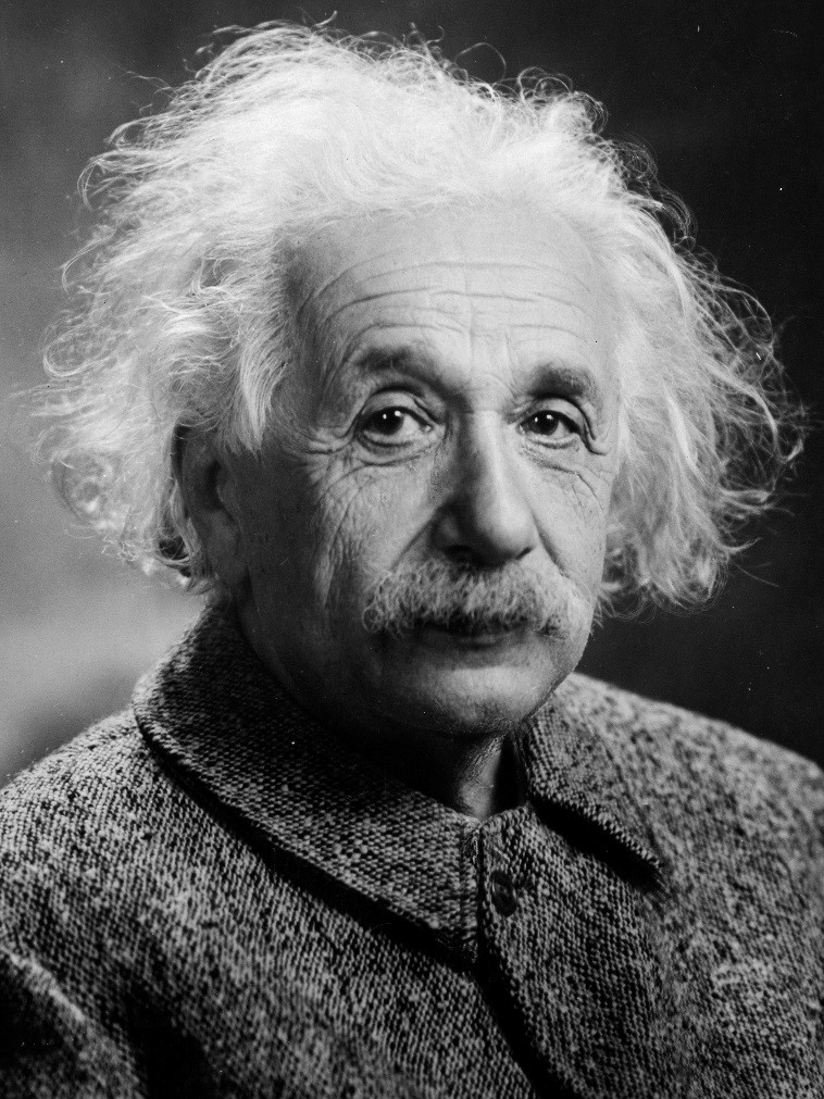 Photo of Einstein