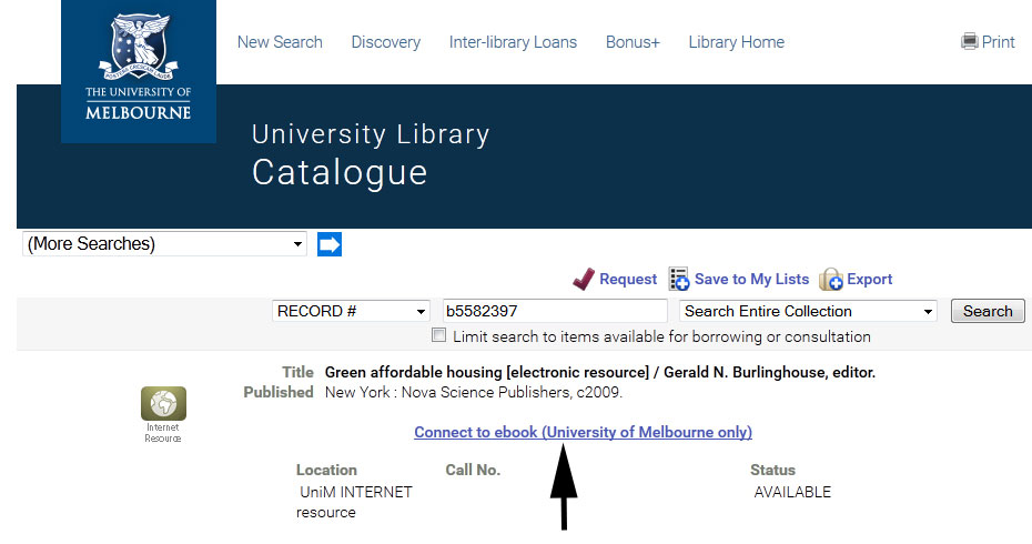 Step-by-Step from Library Homepage - Discovery - LibGuides