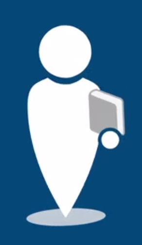 Icon of a library user