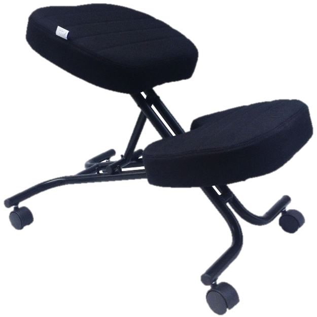 an Image of a kneeling chair