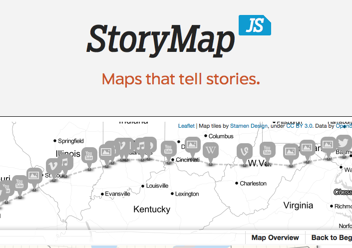 Story Map Js Maps & Timelines   Museum Studies Exhibition Seminar (HAA 1020