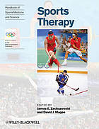 Sports therapy services : organization and operations