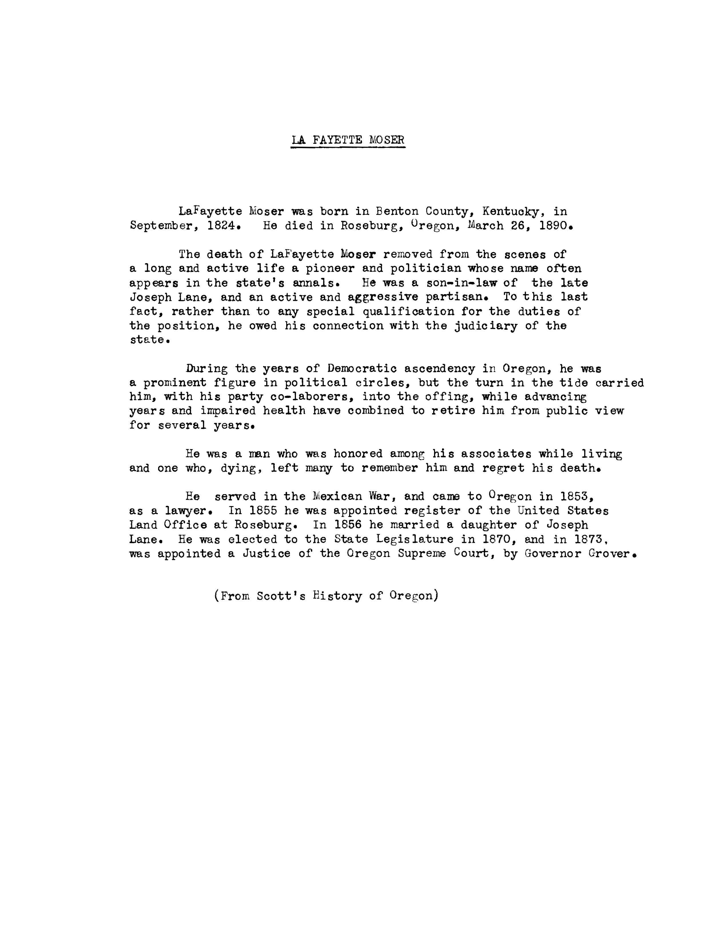Oregon Judicial Department History - State of Oregon Law