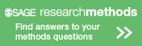 SAGE research methods logo and button