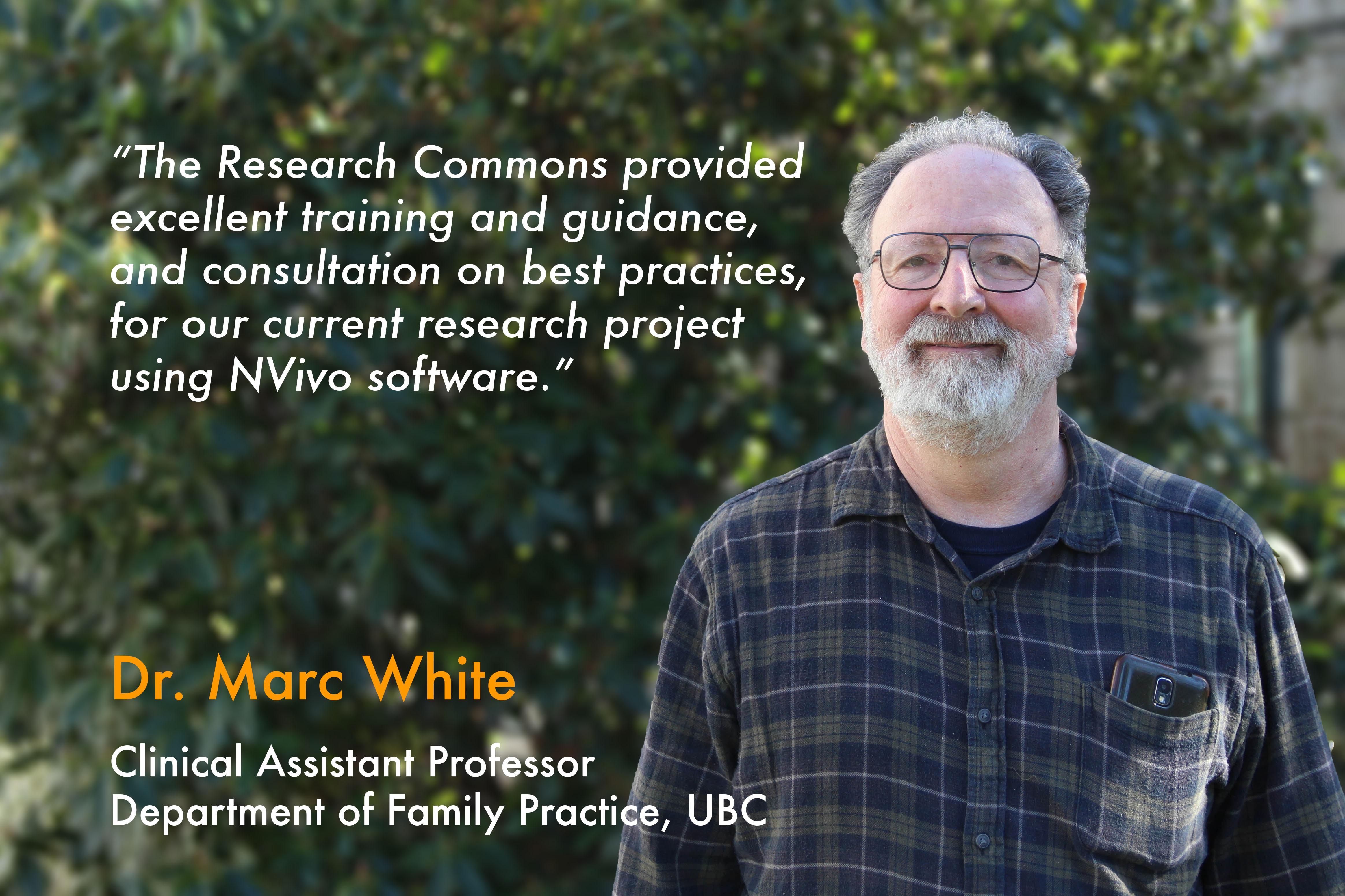 Testimonial - Marc White
