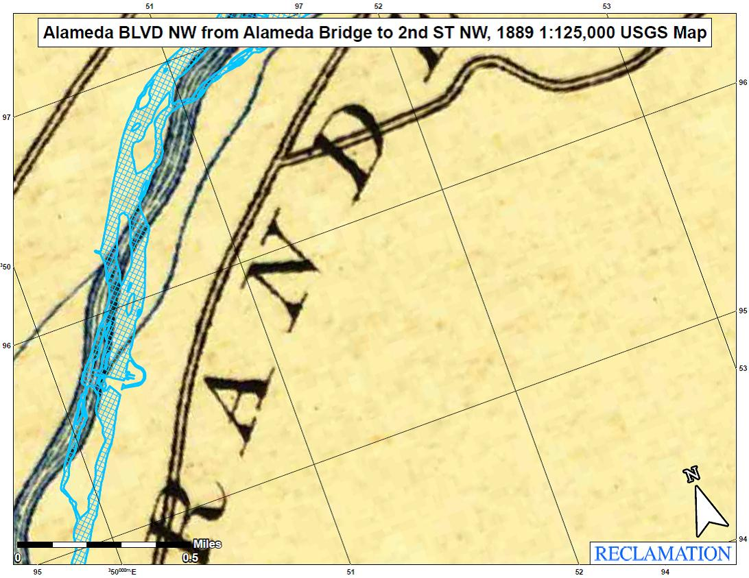 Portion of Rio Grande Mapping project image
