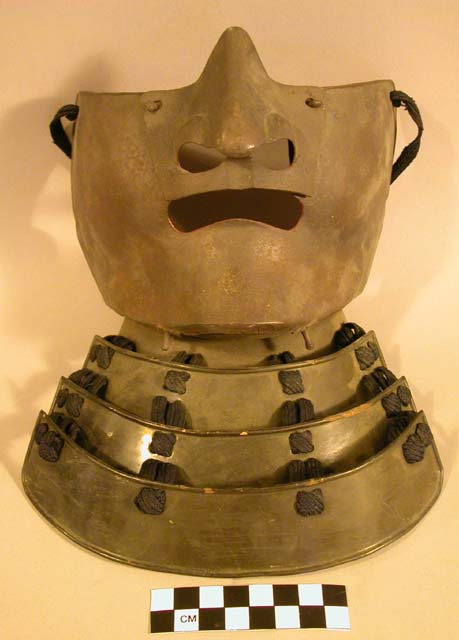 Face mask and gorget