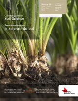 Canadian Journal of Soil Science