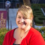 Librarian Jen Dinalo