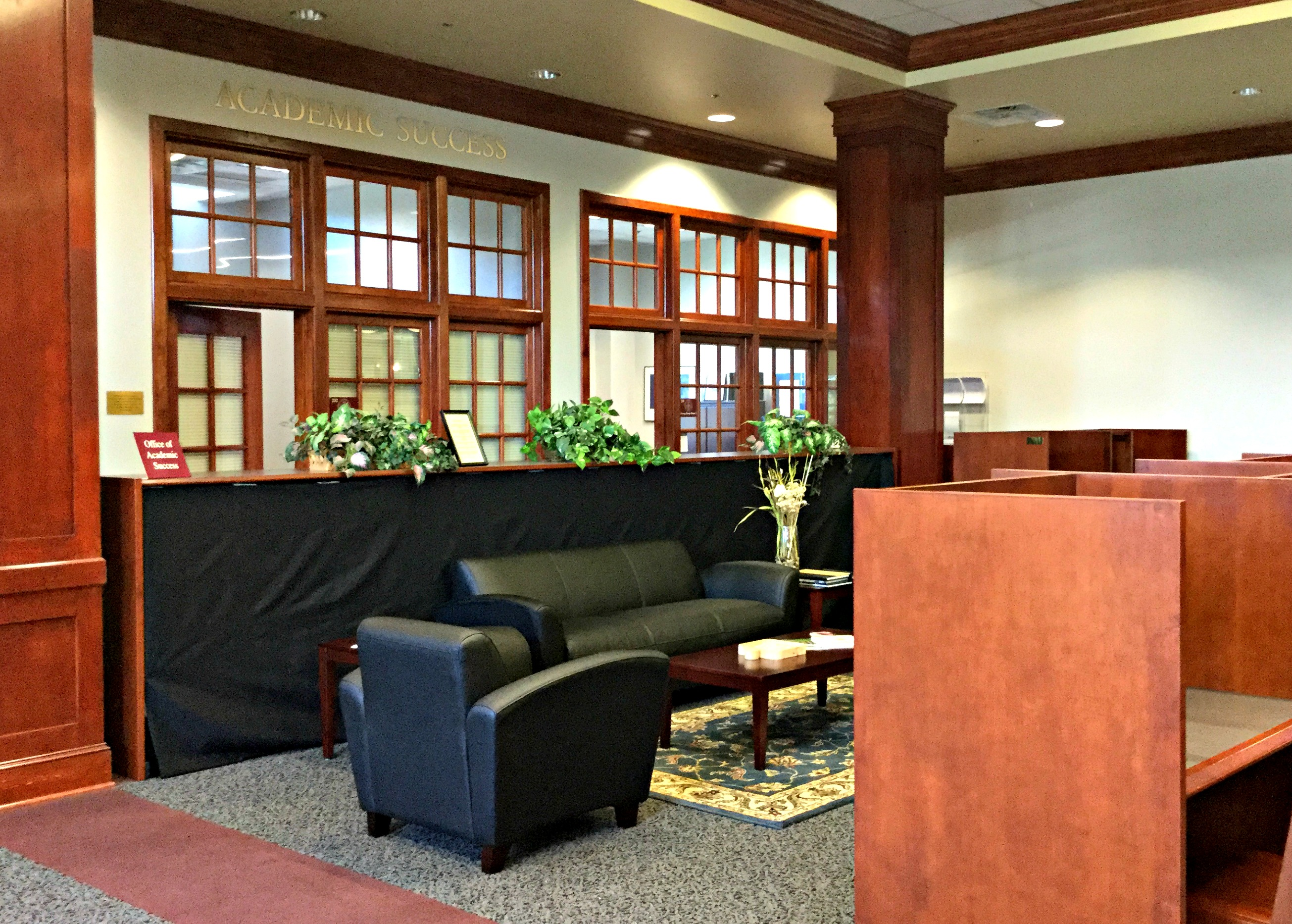 Academic Success Offices in the Library
