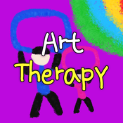 Computer Art Therapy App-please select iOS or Android below to access the app