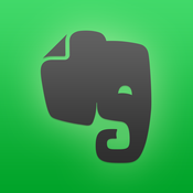 Evernote App-please select iOS or Android below to access the app