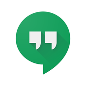 Hangouts App-please select iOS or Android below to access the app