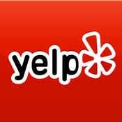 Yelp App-please select iOS or Android below to access the app