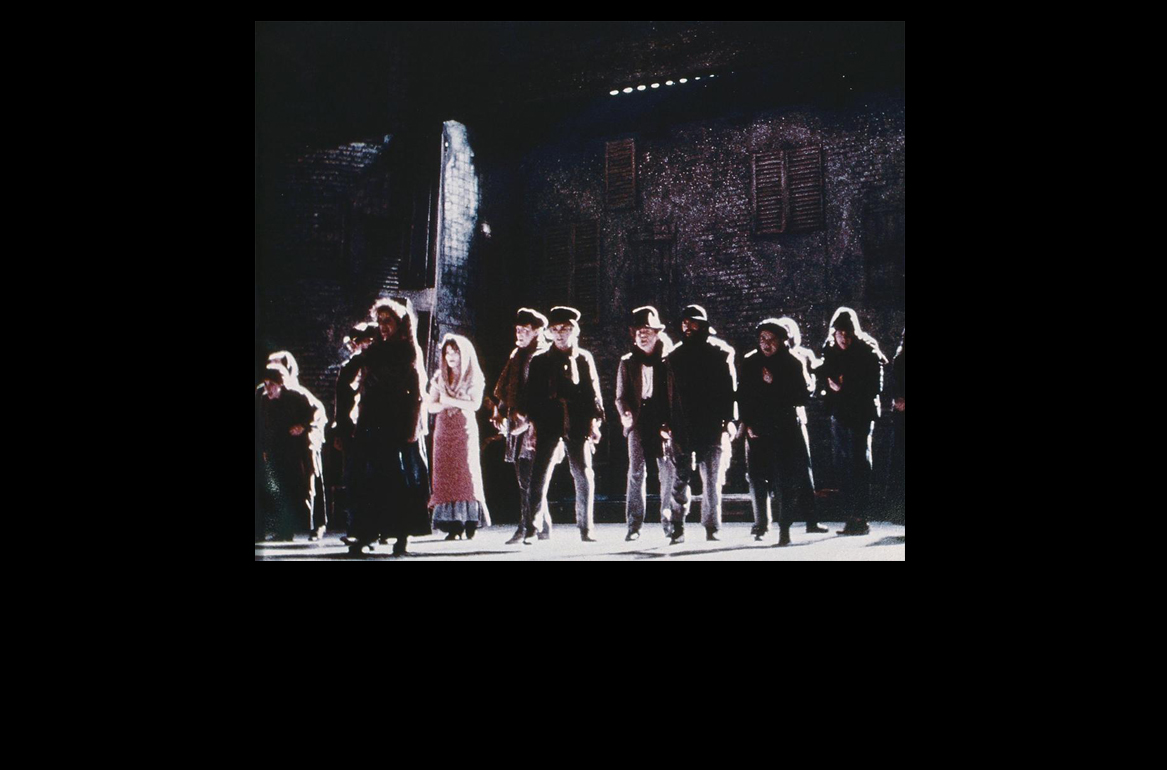 Photo of scene from Les Miserables