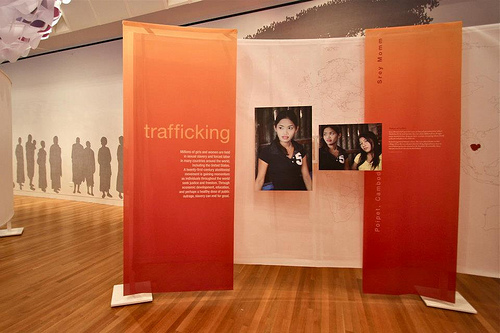 Human Trafficking Display