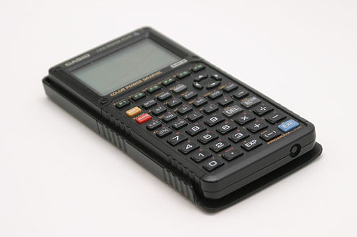 A graphing calculator can help you with math classes.