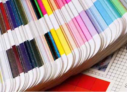 Image of a paint color samples.