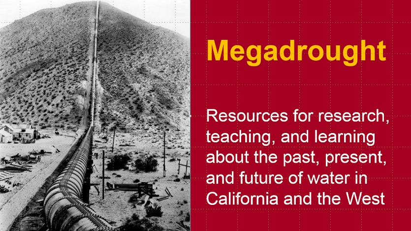 Megadrought title photo of the Jawbone Pipeline