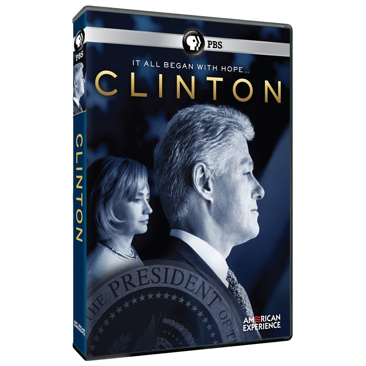Clinton American Experience DVD cover