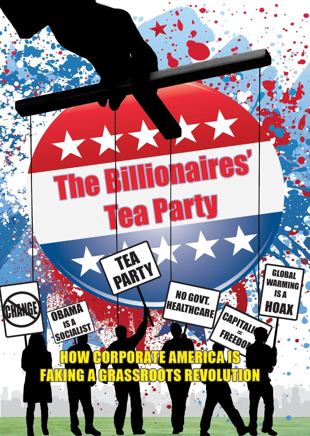 The Billionaires' Tea Party DVD cover