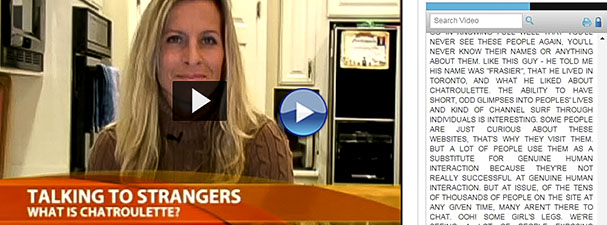 Image: Screenshot from tutorial of a video about stranger danger (linked)