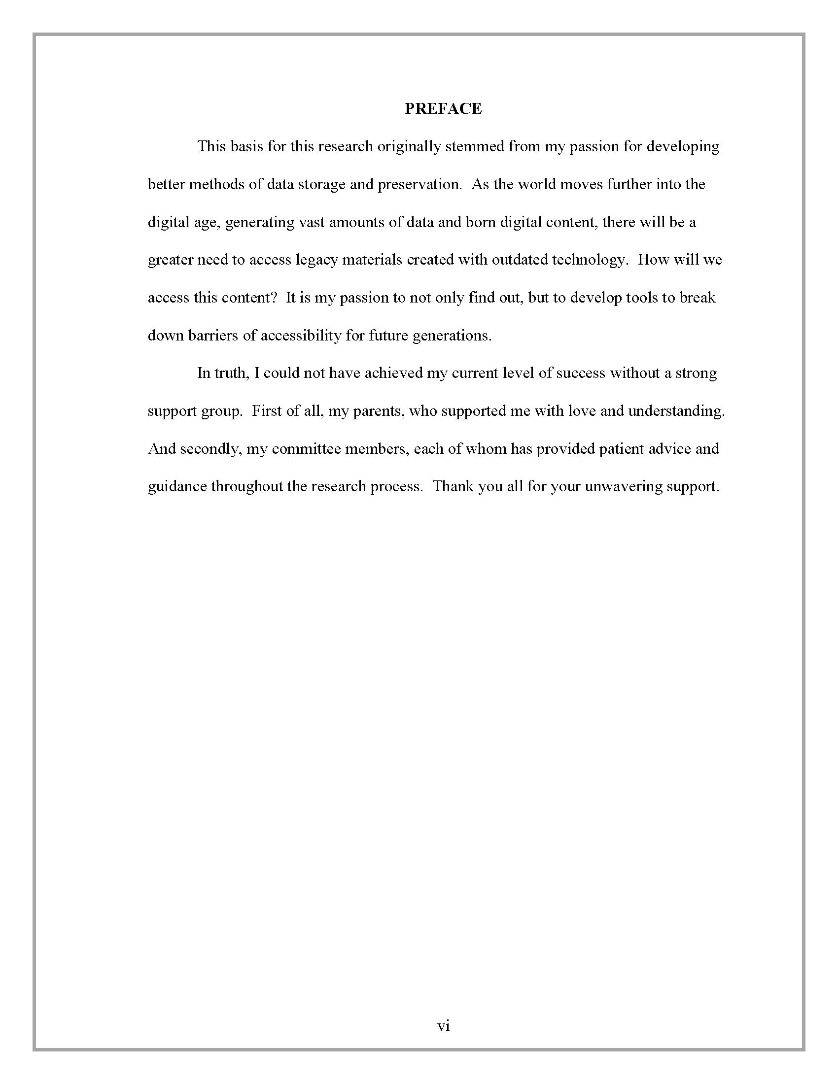 Is A Research Paper An Essay How It Should Look Argument Essay Thesis Statement also Wonder Of Science Essay Preface  Thesis And Dissertation  Research Guides At Sam Houston  Essay Writing Business