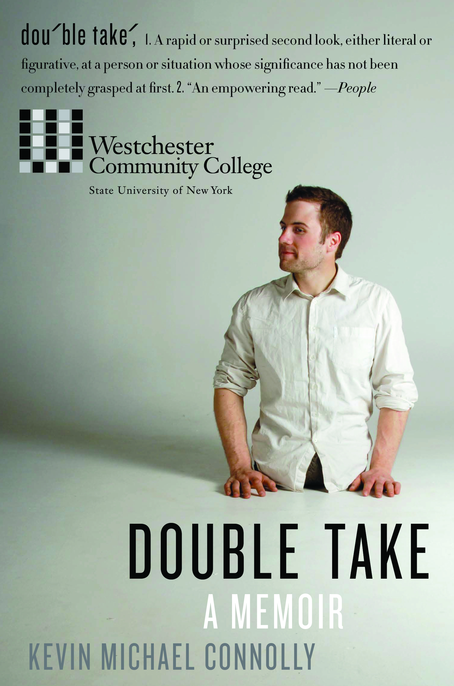 Book Jacket for Double Take; A Memoir by Kevin Michael Connolly
