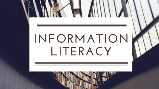 Image linking to information literacy page
