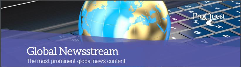 Image result for proquest global newsstream