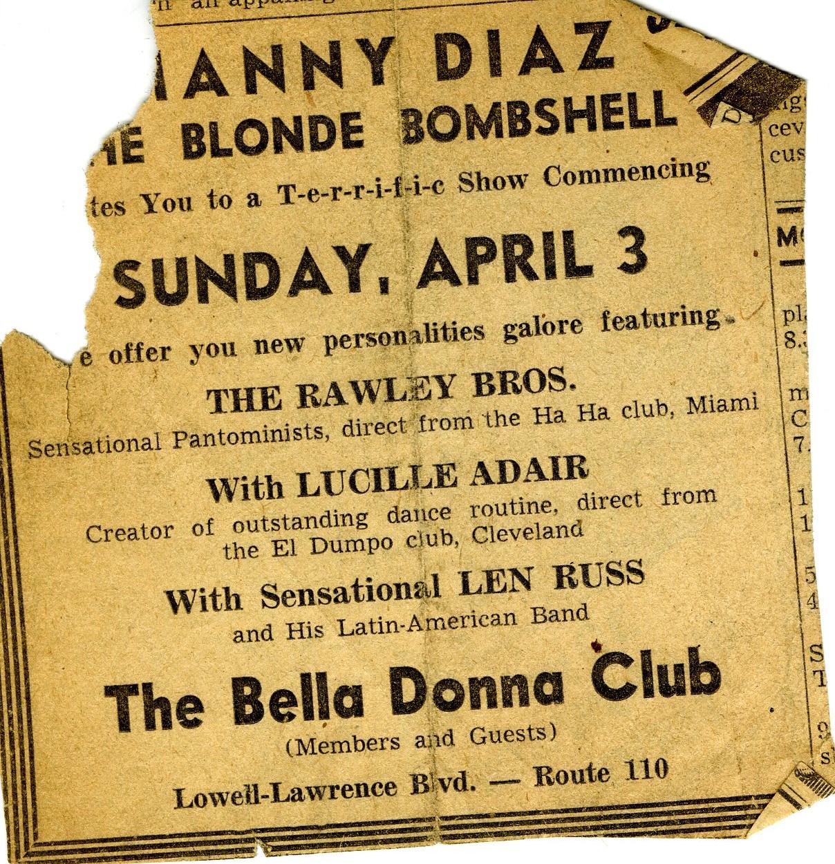 Manny Diaz Blond Bombshell