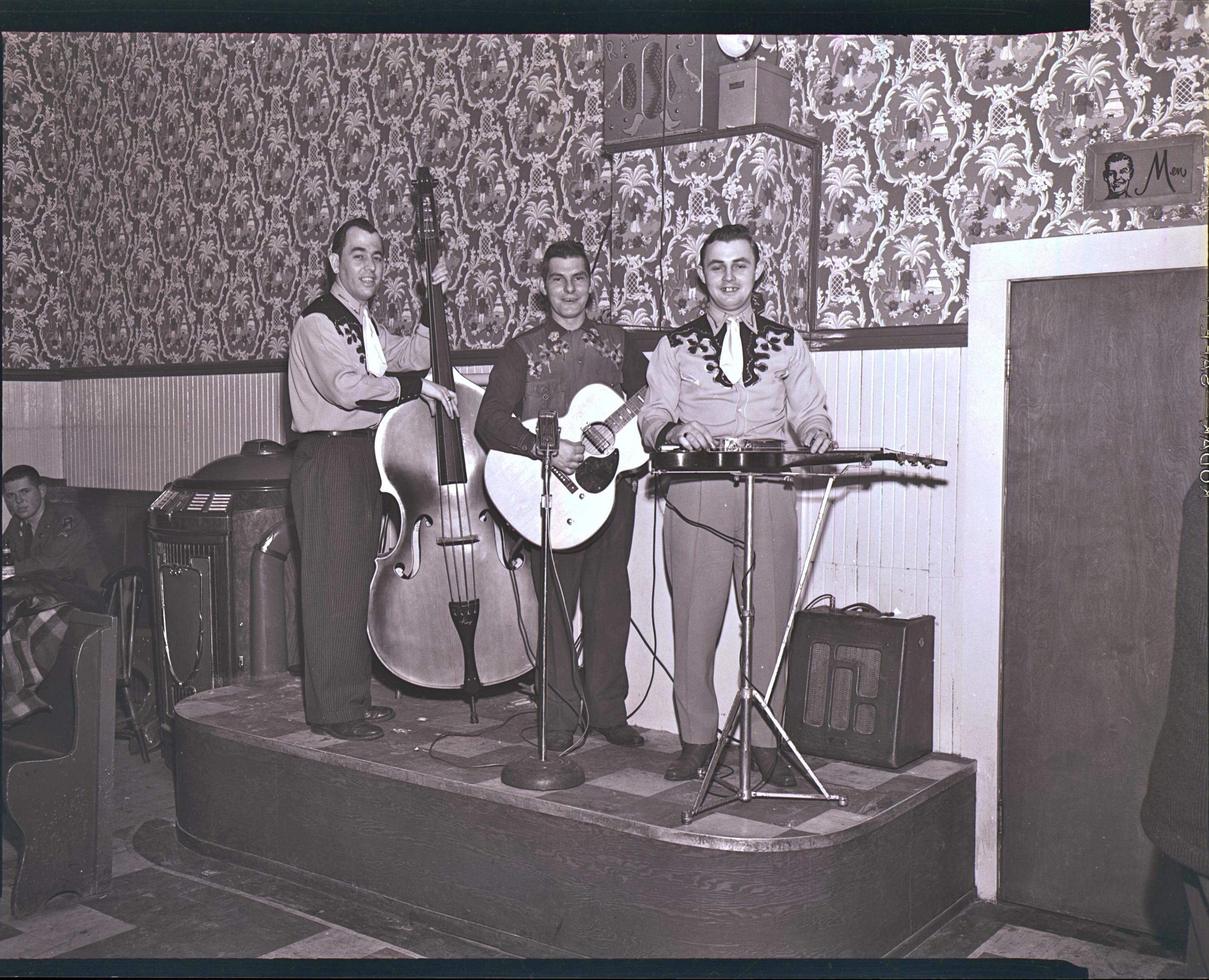 George St. George, Leo Lippe, Vic Damboise