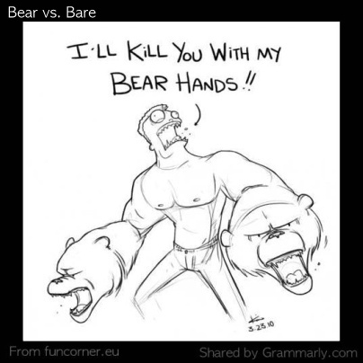 Bear vs. Bare