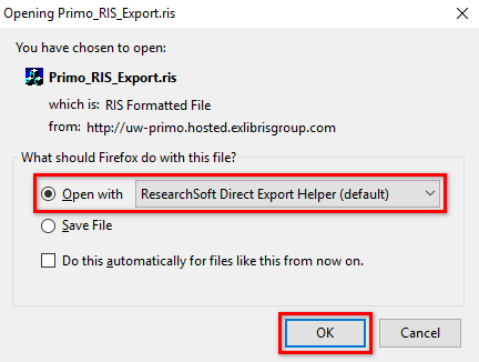 Opening Primo_RIS_Export
