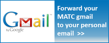 How to forward MATC gmail to personal email account