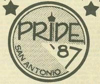 San Antonio LGBT Pride '87 logo