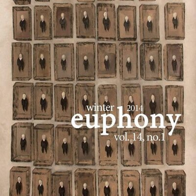 Euphony Journal Prose and Poetry at the University of Chicago cover showing sepia artwork perhaps of various similar switches arranged in a grid
