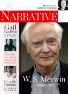 Narrative showing several photos of people including WS Merwin