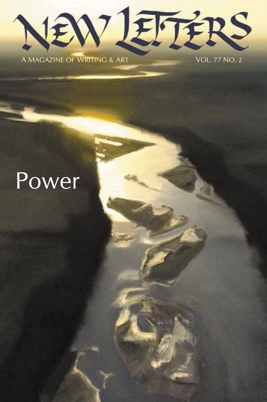 New Letters cover showing power